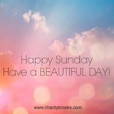 morning and happy sunday i feel so blessed for so many