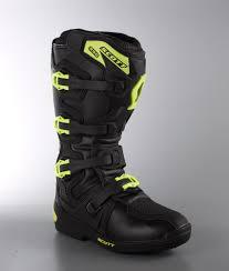 black motocross boots scott mx 350 mx boots ridestore com