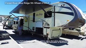 forest river 5th wheel floor plans forest river blue ridge 5th wheel 3780lf youtube