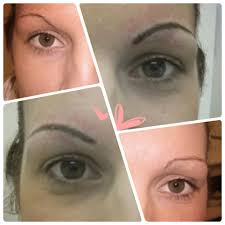 before u0026 after semi permanent eyebrow tattoo micro blading