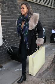 tisha merry arrives at euston station in 01 20 2016 hawtcelebs