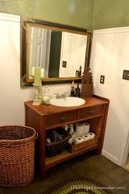 Antique Dresser Vanity Turn A Vintage Dresser Into A Bathroom Vanity Apps Directories