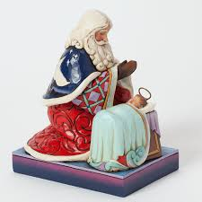 santa and by baby jesus jim shore figurine department 56
