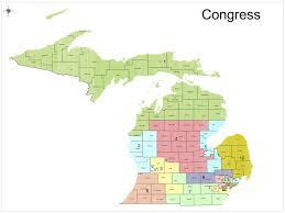 Maps Michigan Login by Rightmichigan Com 2012 Michigan Congressional Races