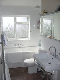 narrow bathroom design idea ewdinteriors