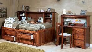 prescott twin size big bookcase storage bed