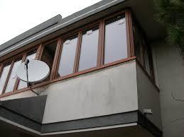 verande balconi verande in pvc finstral effetto legno bernocchi infissi