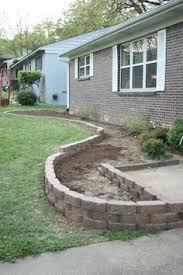 mow over flower bed edging very easy to do at a very inexpensive