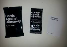 cards against humanity reject pack cards against humanity pax east 2014 panel pack 30