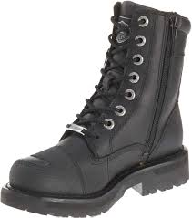 brown leather moto boots harley davidson women u0027s sydney 6 inch leather motorcycle boots