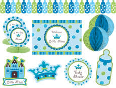 a new prince baby shower 4funparties prince decorating kit