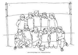 Excellent Marvellous Soccer Coloring Sheets Kids Pages Boys Team Soccer Coloring Page