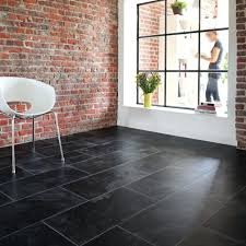 Stone Effect Laminate Flooring Stone Flooring Tiles Black Slate Manufacturer From Bhilwarablack