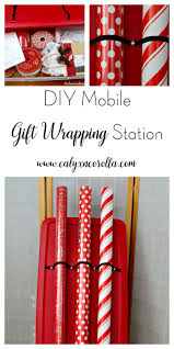present wrapping station diy mobile gift wrapping station calyx corolla