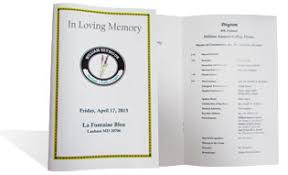 funeral programs printing funeral program printing 24 hour turnaround mmprint commmprint