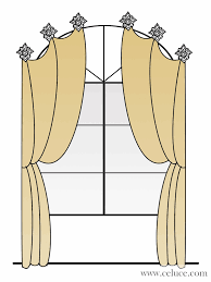 drapes over arch window arched windows pinterest arch