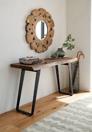 black entry hall table yukon console table entry chicago by crate barrel awesome 1