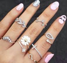 cute finger rings images 183 best stacking rings joy images ladies jpg