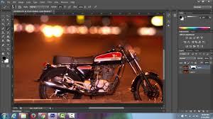 membuat latar belakang foto blur dengan photoshop cara mebuat background blur bokeh tutorial photoshop youtube