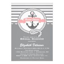 nautical bridal shower invitations nautical themed bridal shower invitations dhavalthakur