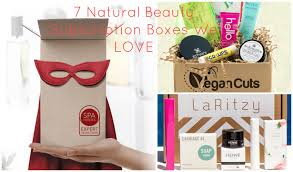 7 natural beauty subscription boxes that rock including 2 vegan