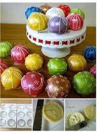 ornament cake balls sweet sixteen