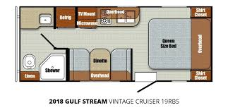 2018 gulf stream vintage cruiser 19rbs u2013 stock vn18006 the rv man