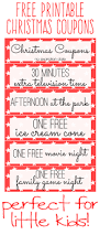 Good Stocking Stuffers Free Printable Kids Christmas Coupon Books Stocking Stuffers