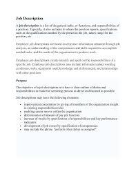 General Contractor Job Description Resume by Buyer Job Description Buy This Resume Buyer Resume Sample
