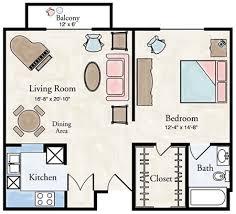 bedroom plan one bedroom flat plans buybrinkhomes