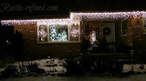 how to hang icicle lights how to hang christmas lights the easy way washingtonian post