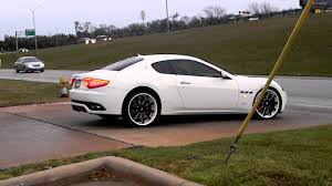 maserati granturismo white black rims trendsetter boyz 2012 maserati granturismo on forgiatos youtube