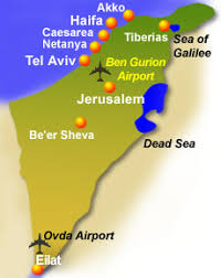 sheva israel map israel map and cities distance table israel fast facts guide