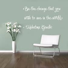 quote gandhi change world buy mahatma gandhi quote and get free shipping on aliexpress com