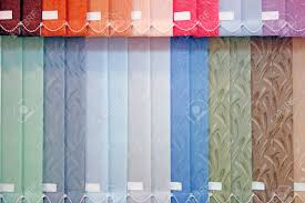 background from multi colored vertical blinds stock photo picture