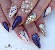 luminous nails purple cream u0026 champagne gold inspired by