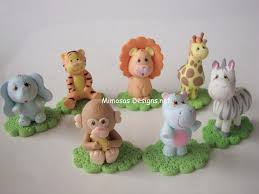 safari cake toppers maybe i can just get these porcelain cake toppers that way i don