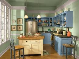 blue cabinets in kitchen 12 easy ways to update kitchen cabinets hgtv