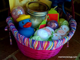 baby easter basket inspiration for baby gift easter basket mamacravings