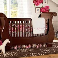 best pottery barn larkin fixed gate sleigh crib for sale in