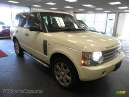 land rover hse white 2005 land rover range rover hse in chawton white 190813