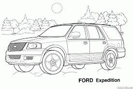 jeep ford coloring page jeep ford