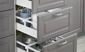 amortisseur tiroir cuisine étagères et tiroirs accessoires de rangement intérieur ikea
