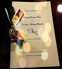 easy wedding programs an easy wedding program for overstressed brides