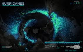 Hurricane Map Look At This Every Recorded Hurricane Since 1851 On One Map