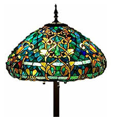 Tiffany Floor Lamp Shades Tiffany Style Stained Glass Floor Lamp