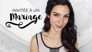 look pour un mariage look invitée mariage maquillage coiffure