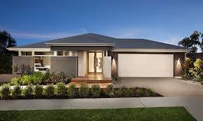 australian inspired single story contemporary house home beauty