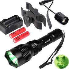 best green light for hog hunting windfire wf802 waterproof 350 lumens 250 yards green cree led coyote