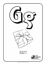 letter g u2013 coloring alphabet cool coloring pages